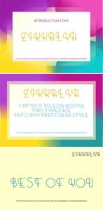 Zikkalya Font
