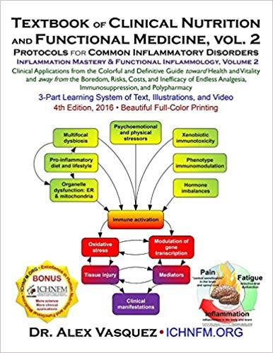 Textbook of Clinical Nutrition and Functional Medicine, vol. 2: Protocols for Common Inflammatory Disorders