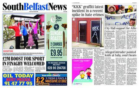 South Belfast News – April 27, 2018