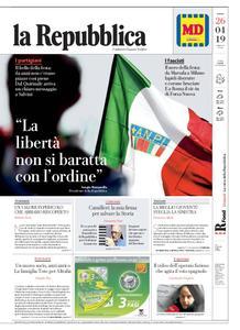 la Repubblica – 26 aprile 2019