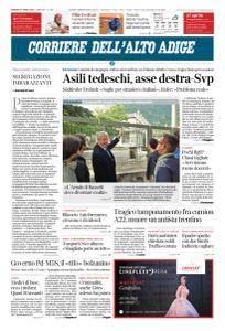 Corriere dell'Alto Adige - 27 Aprile 2018
