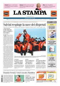 La Stampa Imperia e Sanremo - 11 Giugno 2018