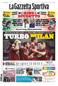La Gazzetta dello Sport – 19 luglio 2020