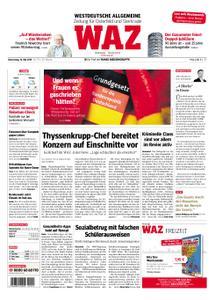 WAZ Westdeutsche Allgemeine Zeitung Oberhausen-Sterkrade - 16. Mai 2019