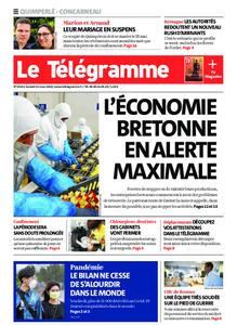 Le Télégramme Concarneau – 21 mars 2020