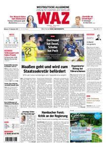 WAZ Westdeutsche Allgemeine Zeitung Oberhausen-Sterkrade - 19. September 2018