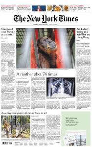 International New York Times - 5 July 2019
