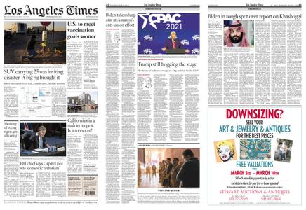 Los Angeles Times – March 03, 2021