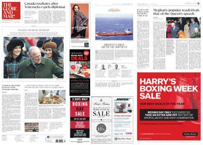The Globe and Mail – December 26, 2017