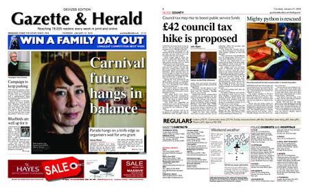 Gazette & Herald – January 31, 2019