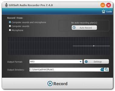 GiliSoft Audio Recorder Pro 7.4.0