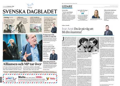 Svenska Dagbladet – 13 oktober 2018