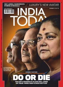 India Today - November 12, 2018