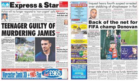 Express and Star City Edition – February 02, 2018