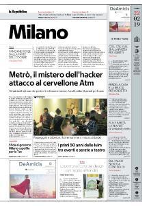 la Repubblica Milano - 22 Febbraio 2019