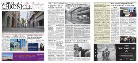 Gibraltar Chronicle – 16 April 2020