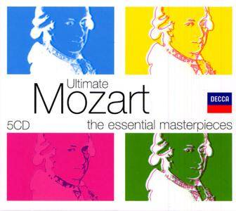 VA - Ultimate Mozart: The Essential Masterpieces (2006) (5 CD Box Set)