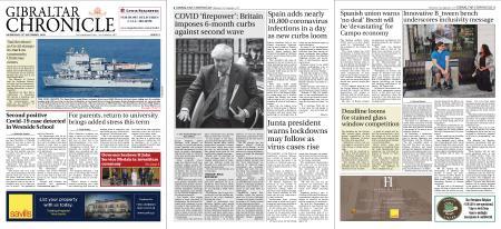 Gibraltar Chronicle – 23 September 2020