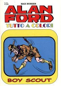 Alan Ford 024 - Boy Scout (Aprile 2015) (Tutto colori)