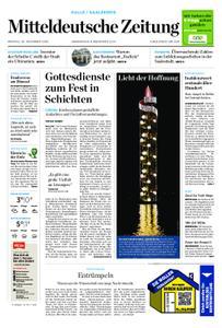 Mitteldeutsche Zeitung Mansfelder Zeitung Eisleben – 30. November 2020