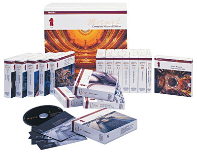 Wolfgang Amadeus Mozart - The Complete Mozart Edition (2006) (180 CDs Box Set)