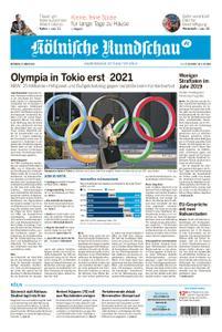 Kölnische Rundschau Wipperfürth/Lindlar – 25. März 2020