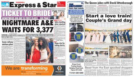 Express and Star Sandwell Edition – April 10, 2018