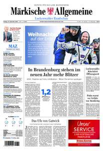 Märkische Allgemeine Luckenwalder Rundschau - 21. Dezember 2018