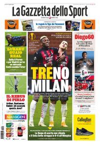 La Gazzetta dello Sport Roma – 30 ottobre 2020