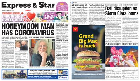 Express and Star Sandwell Edition – February 08, 2020