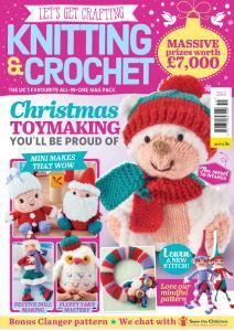 Let's Get Crafting Knitting & Crochet - Issue 115 - October 2019