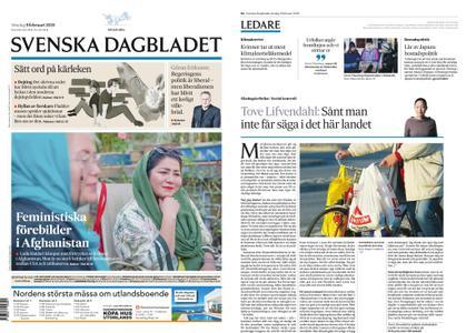 Svenska Dagbladet – 09 februari 2020