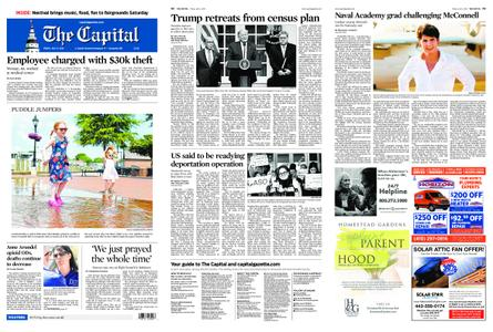 The Capital – July 12, 2019