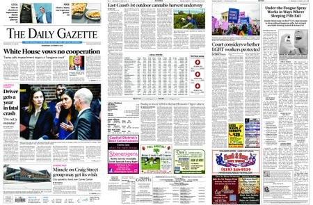 The Daily Gazette – October 09, 2019