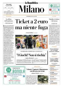la Repubblica Milano - 7 Agosto 2019