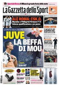 La Gazzetta dello Sport Roma – 08 novembre 2018