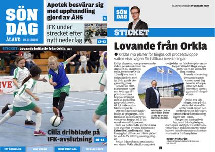 Ålandstidningen – 19 januari 2020