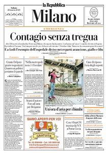 la Repubblica Milano - 28 Marzo 2020