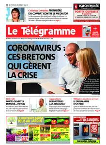 Le Télégramme Concarneau – 06 mars 2020