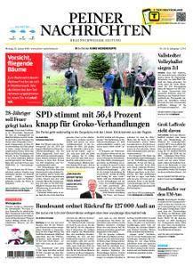 Peiner Nachrichten - 22. Januar 2018