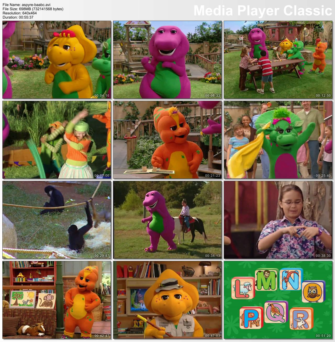 Barney Animal Abcs 2008 Avaxhome