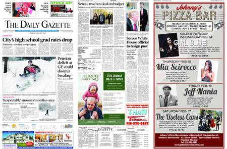 The Daily Gazette – February 08, 2018