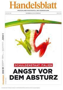 Handelsblatt - 28. Oktober 2016