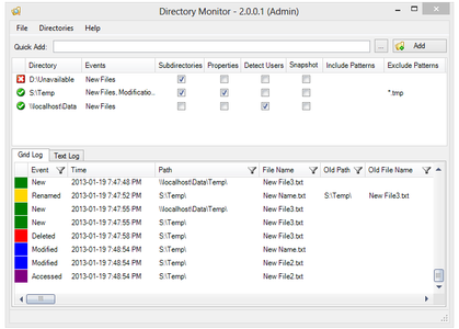 Directory Monitor Pro 2.13.0.4 Multilingual