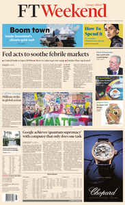 Financial Times Europe – 21 September 2019