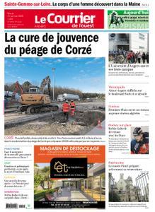 Le Courrier de l'Ouest Angers – 21 janvier 2020