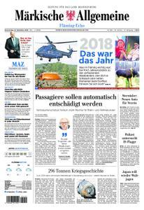 Märkische Allgemeine Fläming Echo - 27. Dezember 2018