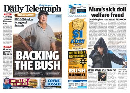 The Daily Telegraph (Sydney) – July 18, 2019