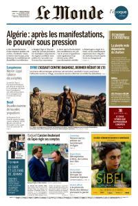 Le Monde du Dimanche 3 et Lundi 4 Mars 2019