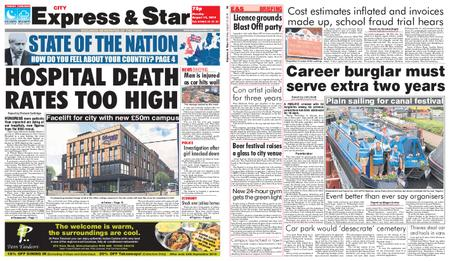 Express and Star City Edition – August 12, 2019